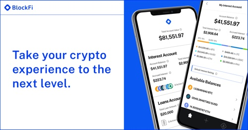 a brief overview of the blockfi app