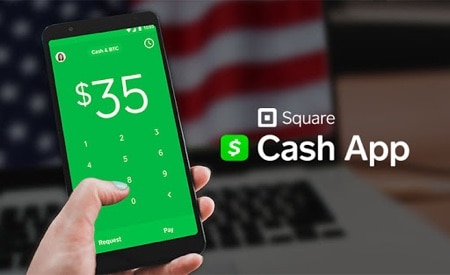 a person using the Cash App for trading